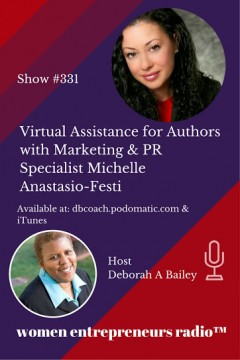 Press Page Radio Interview with Deborah Bailey